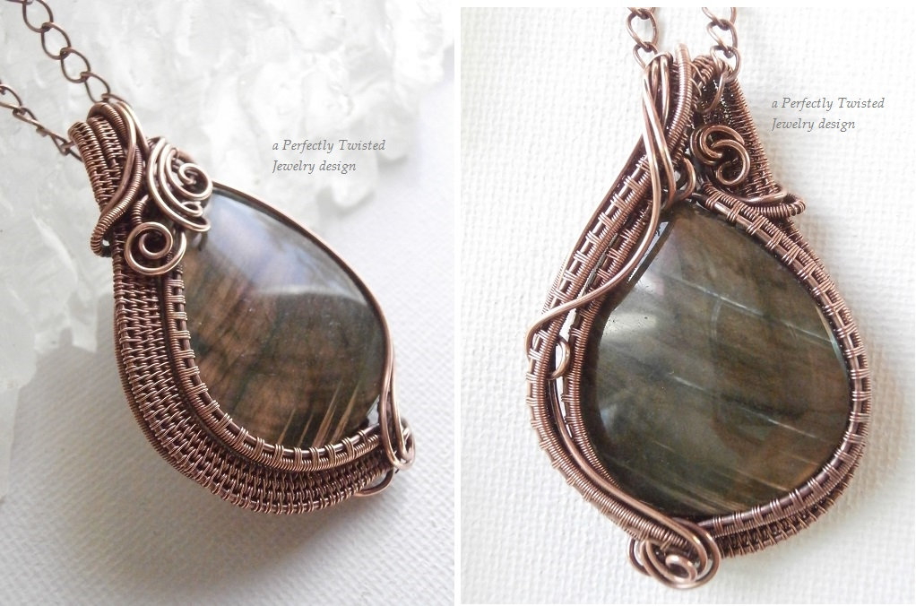 Perfectly Twisted Handmade Wire Wrapped Beaded and Gemstone ...