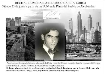 Recital -homenaje a García Lorca