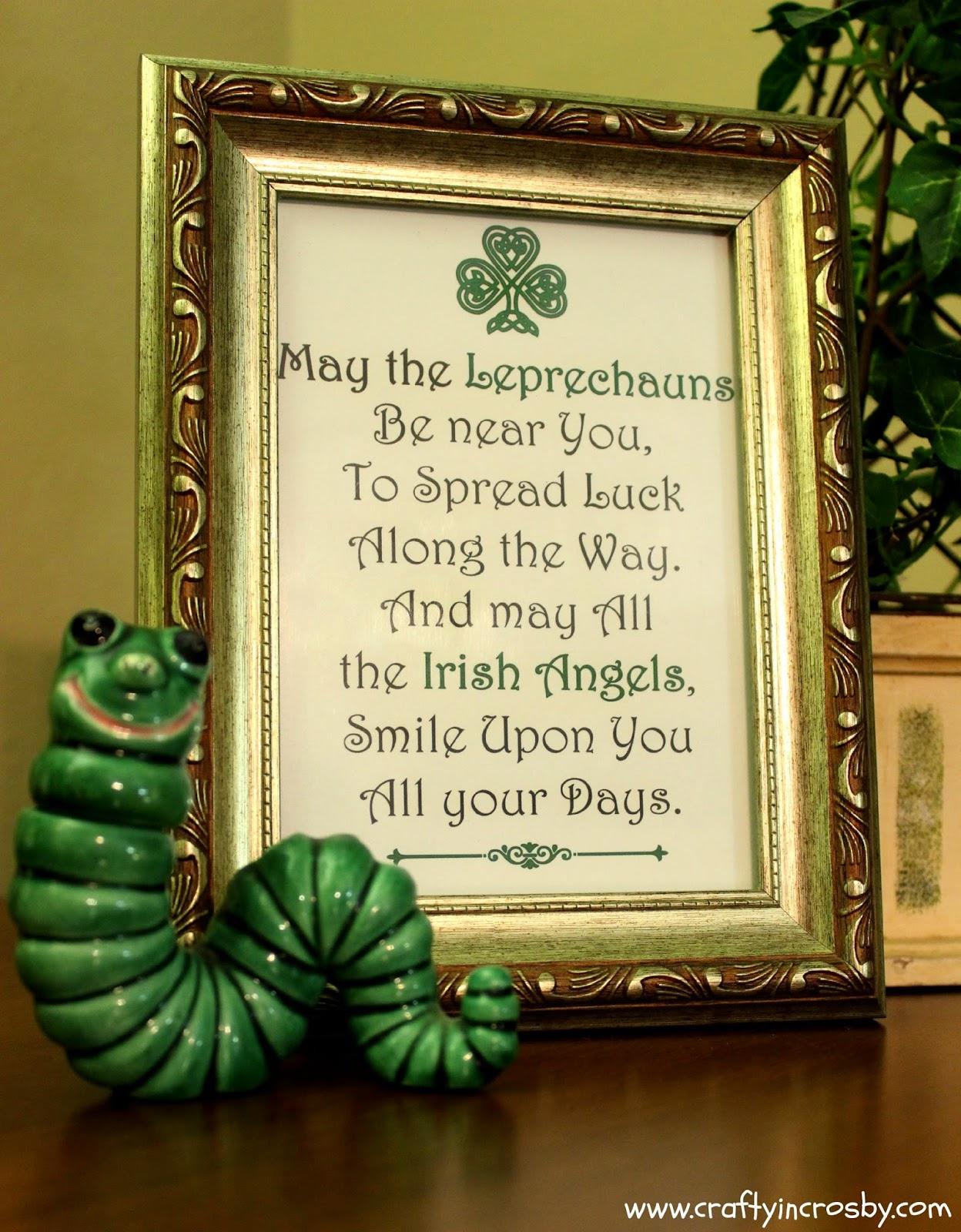 Irish Blessing, Irish Angels, Angels, Leprechauns, Ireland, Printables
