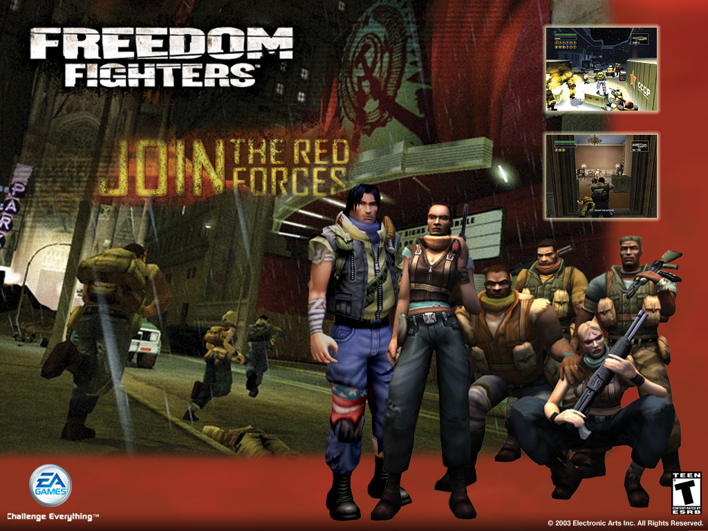 Freedom Fighters Wallpapers Freedom Fighters