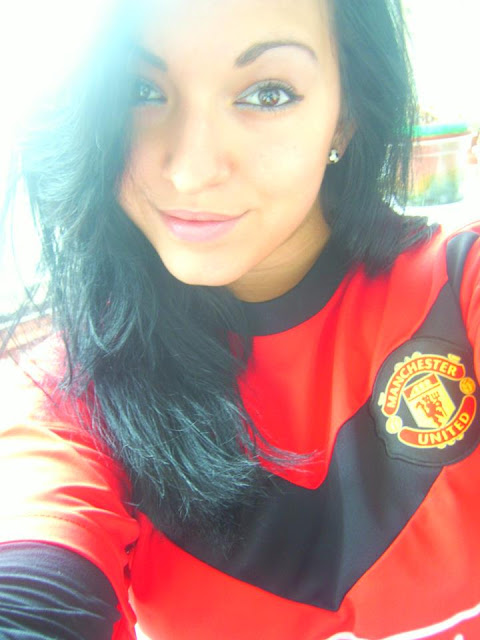 Man Utd Girl from Bulgaria