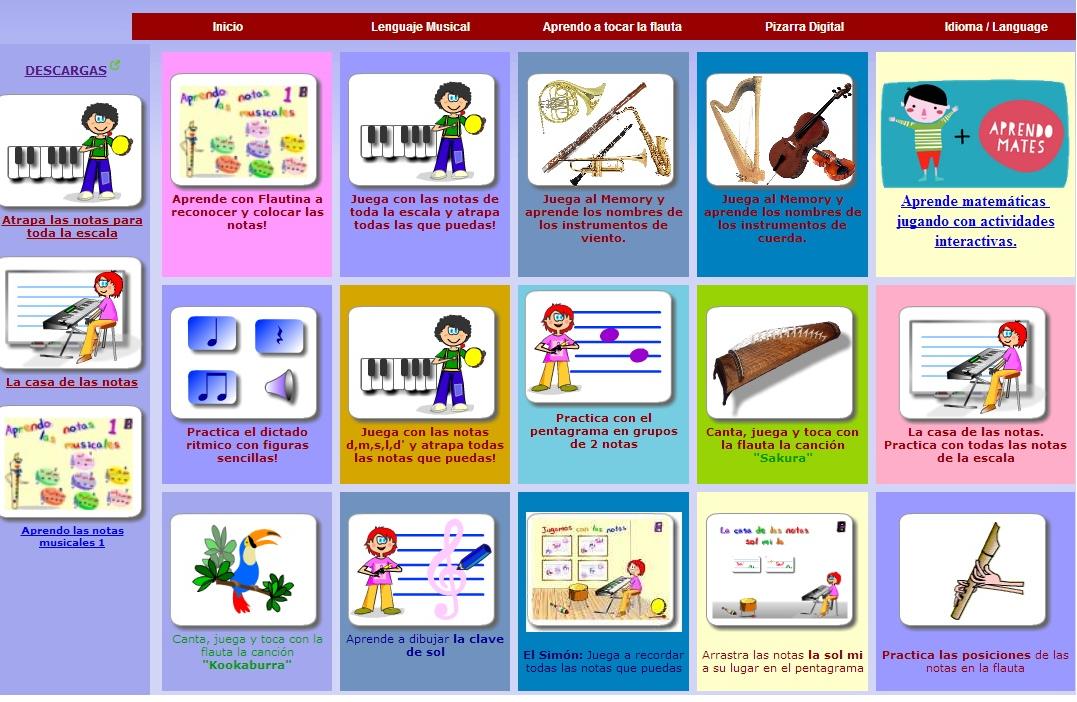 Aprende música con las TIC