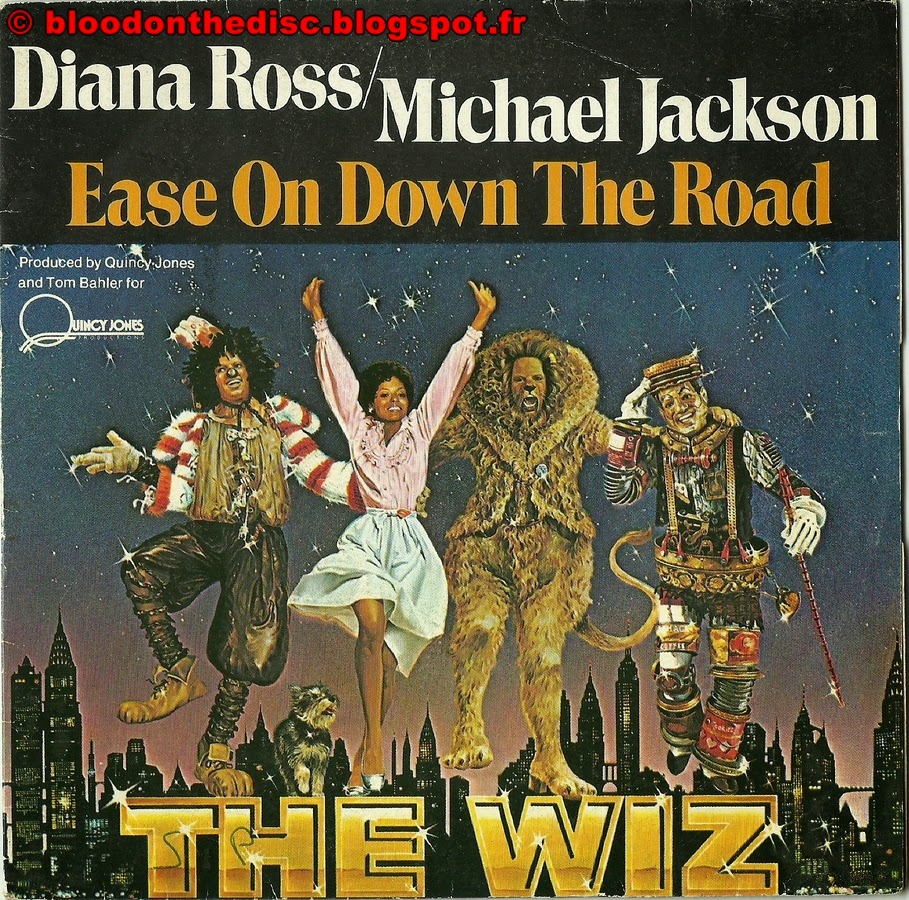 Ease On Down The Road 45T Front Cover