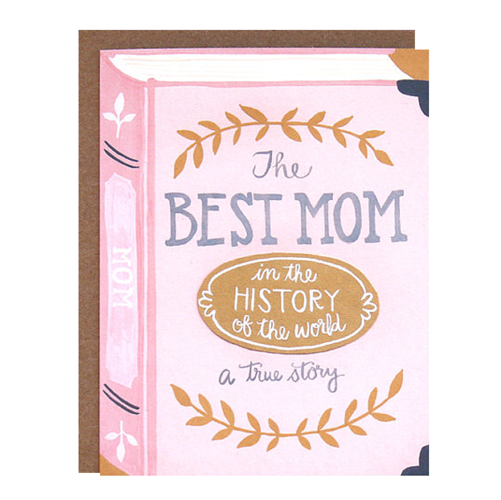 Best Mom Book Card from 1Canoe2