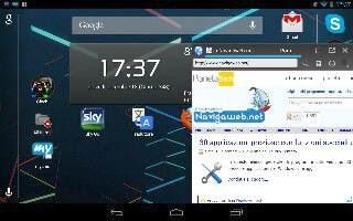 Applicazioni finestre mobili Android