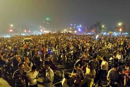 Full video màn bắn pháo hoa kỷ niệm 60 năm giải phóng thủ đô hà nội 10/10/2014