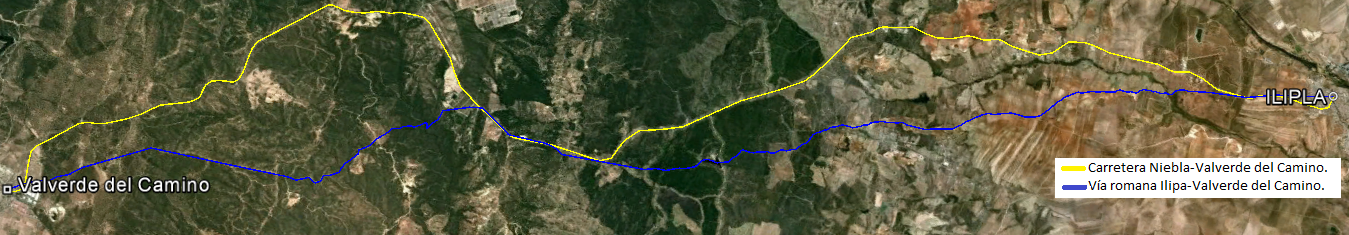 Tramo ilipla valverde del camino huelva v as romanas for Muebles valverde del camino