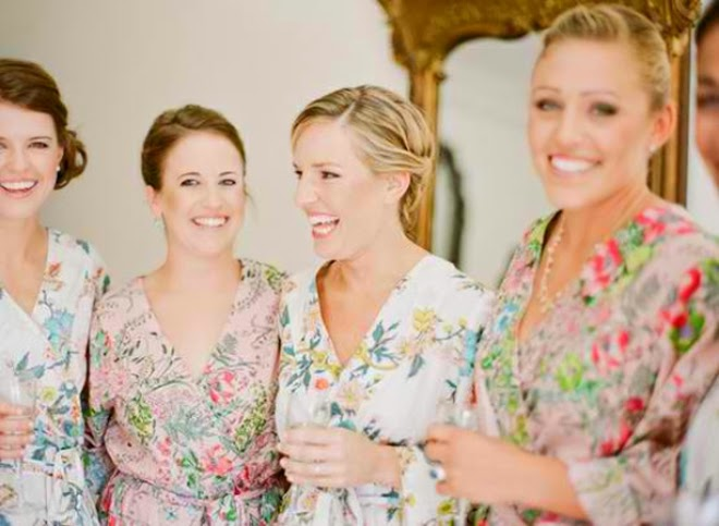 Gift Ideas For Bride On Wedding Morning : company specialized in robes for brides and bridesmaids i love the ...