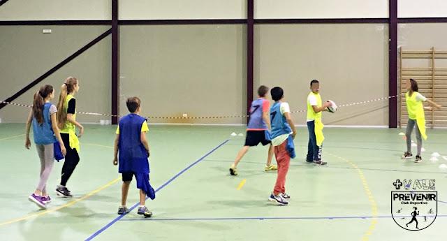 speed badminton crossminton ies bañaderos niños
