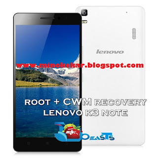 Rooting Lenovo K3 Note (K50-t5) (Install CWM and Root)