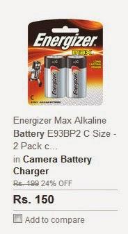 ENERGIZER MAX ALKALINE