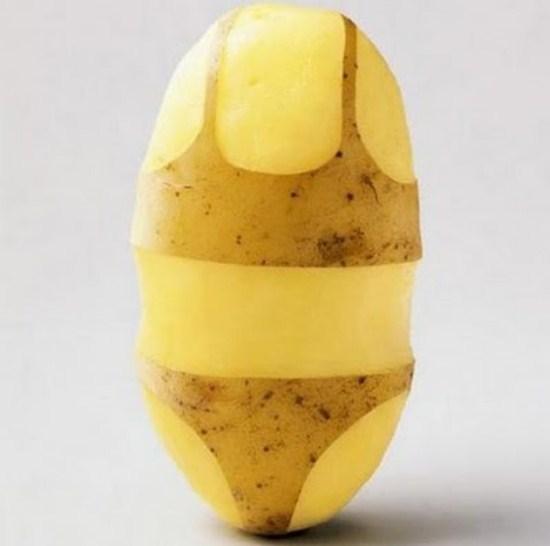 Die Potato Wallpaper