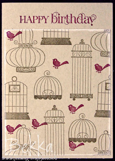 Aviary Birthday Card by Bekka www.feeling-crafty.co.uk
