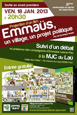 """Emmaûs, un village, un projet politique"""""""