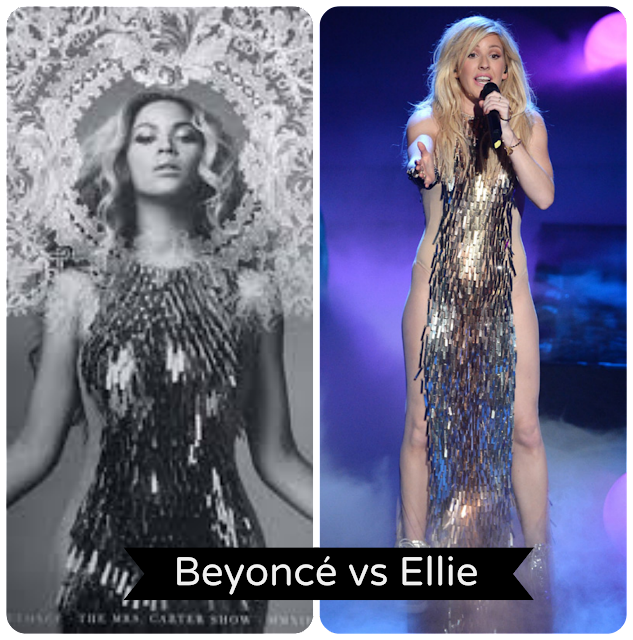 Beyoncé vs Ellie Goulding style X-factor UK