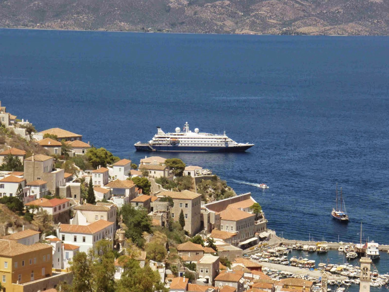 SeaDream cruise from Gallipoli to the Greek Islands May 2015