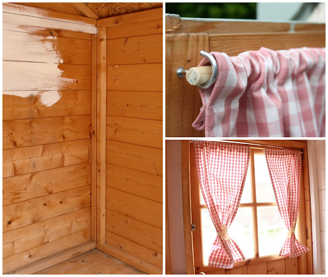 Tales From A Happy House Garden Playhouse Makeover