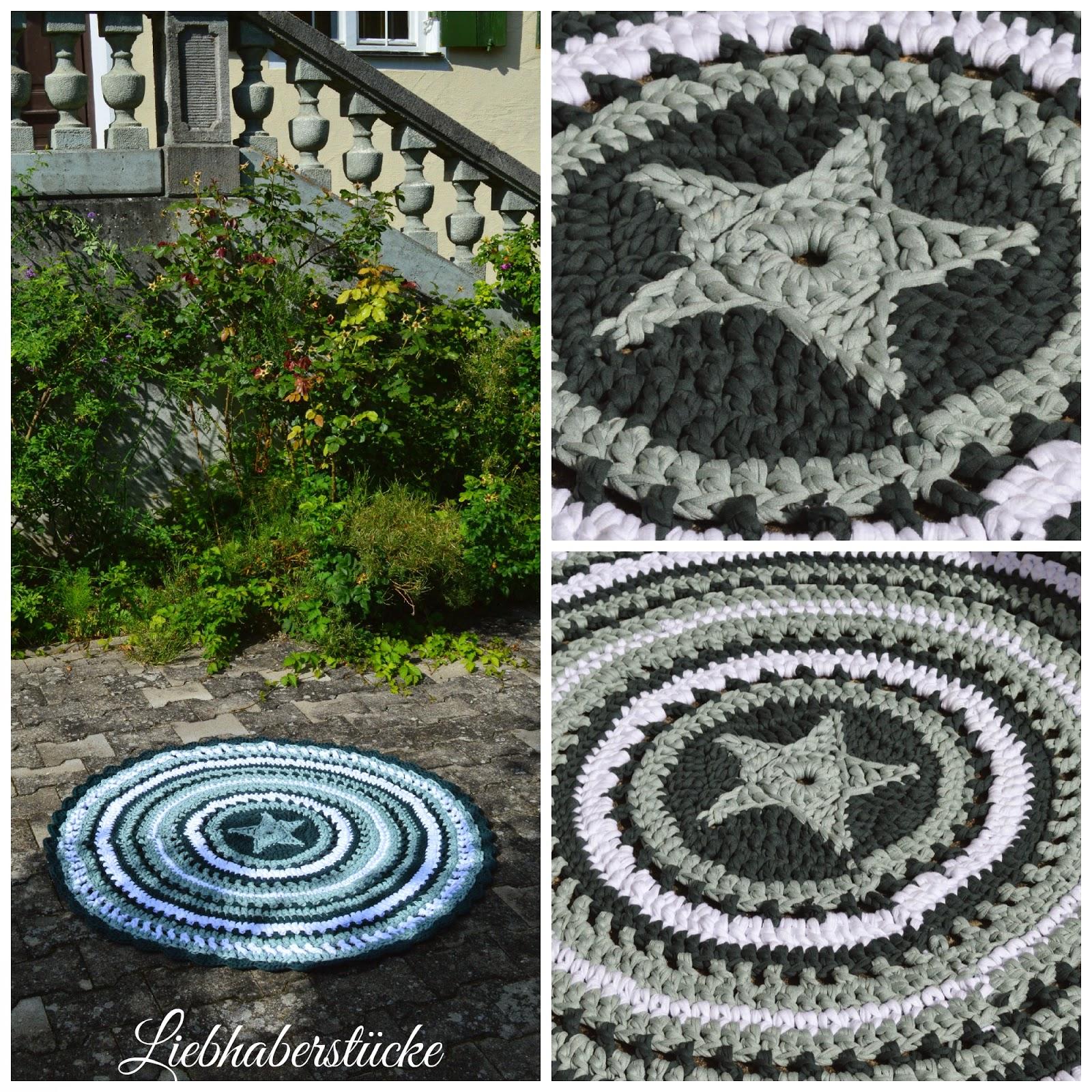 Exelent Häkeln Sterne Teppich Muster Crest - Decke Stricken Muster ...
