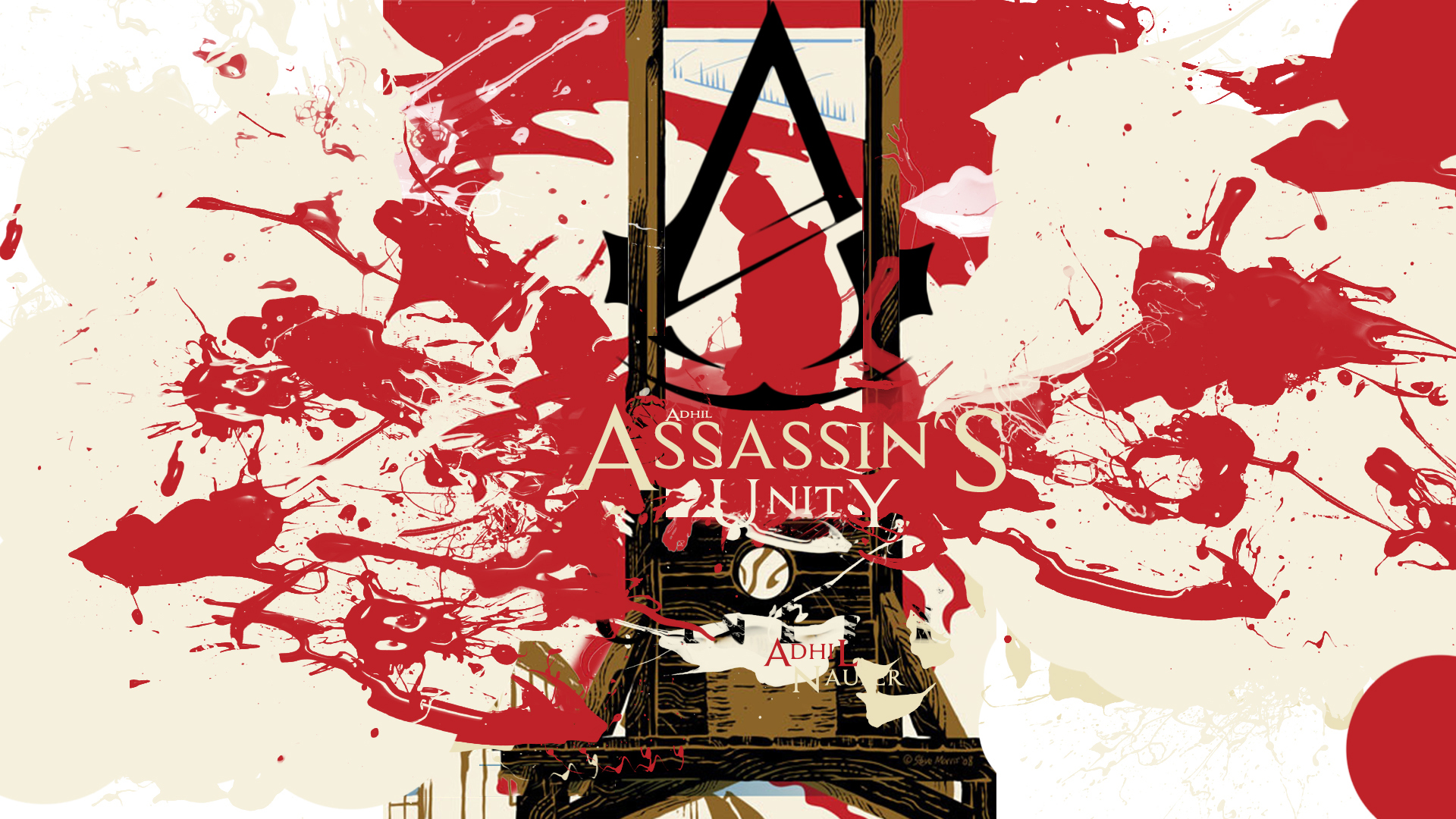 assassins creed logo unity 2f wallpaper hd