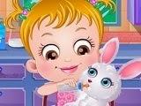 Baby Hazel y su conejito Honey Bunny