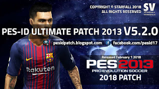 PES 2013 PES-ID Ultimate Patch v5.2.0 A.I.O Version
