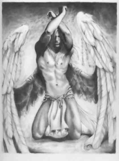Male Angel Drawings