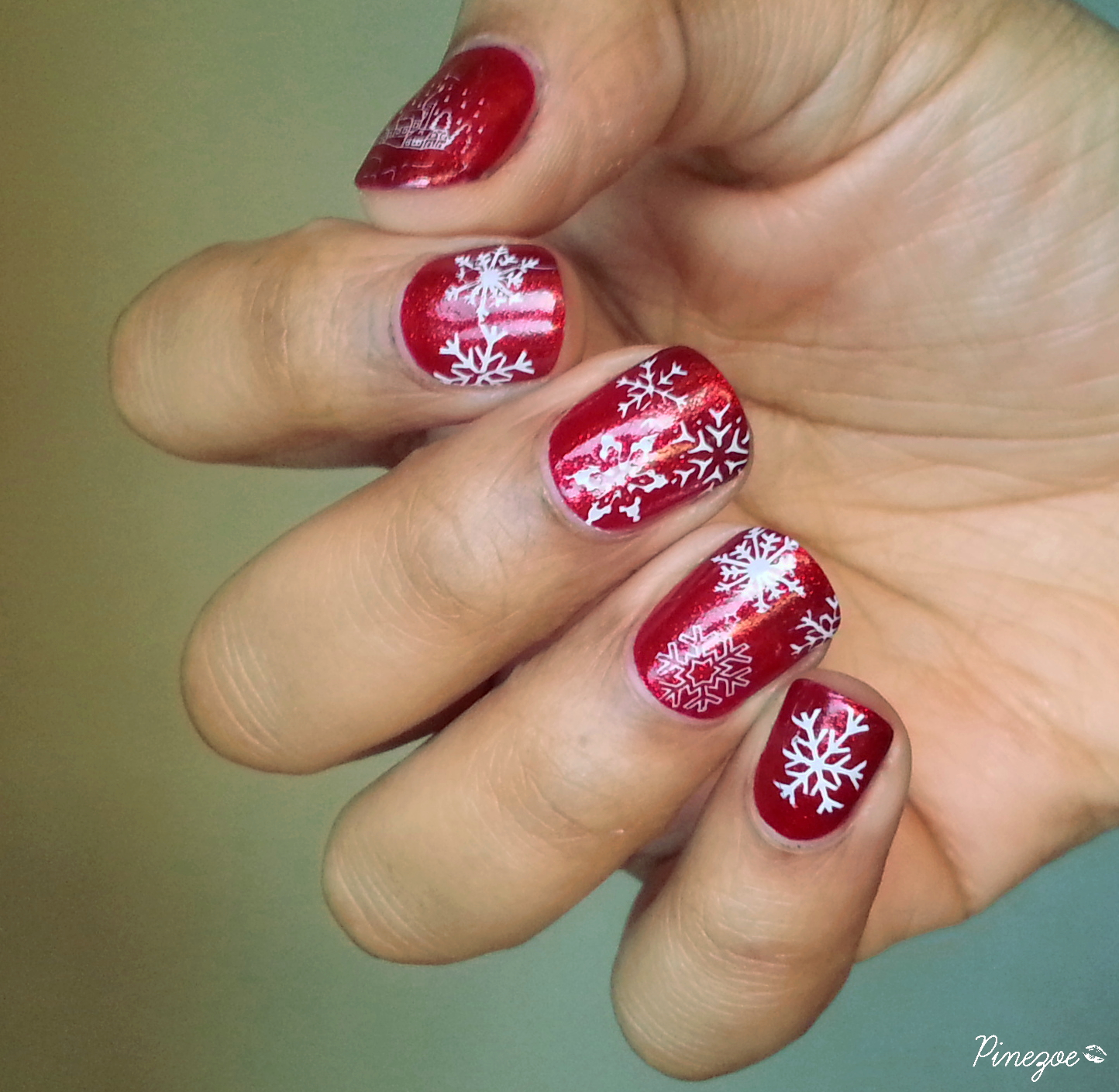 Ruby Pumps & Stamping Chez Delaney Hiver 001