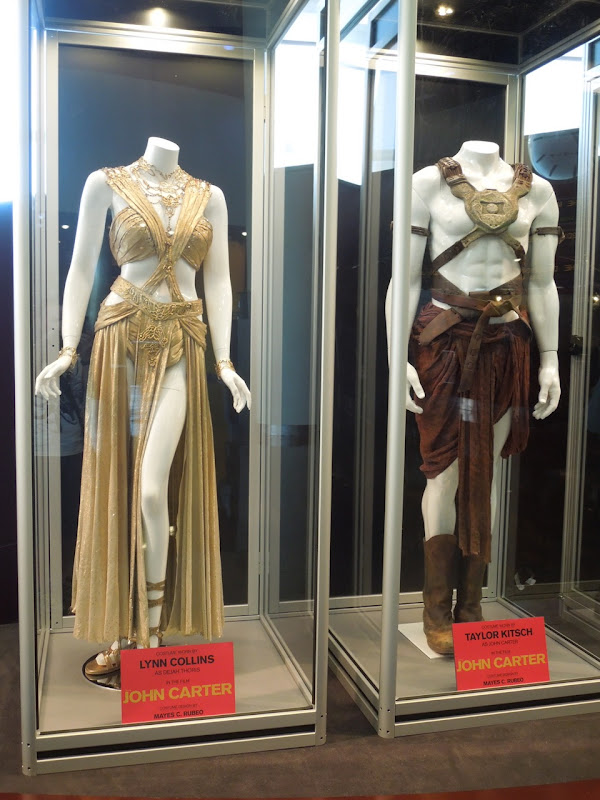 Dejah Thoris and John Carter costumes