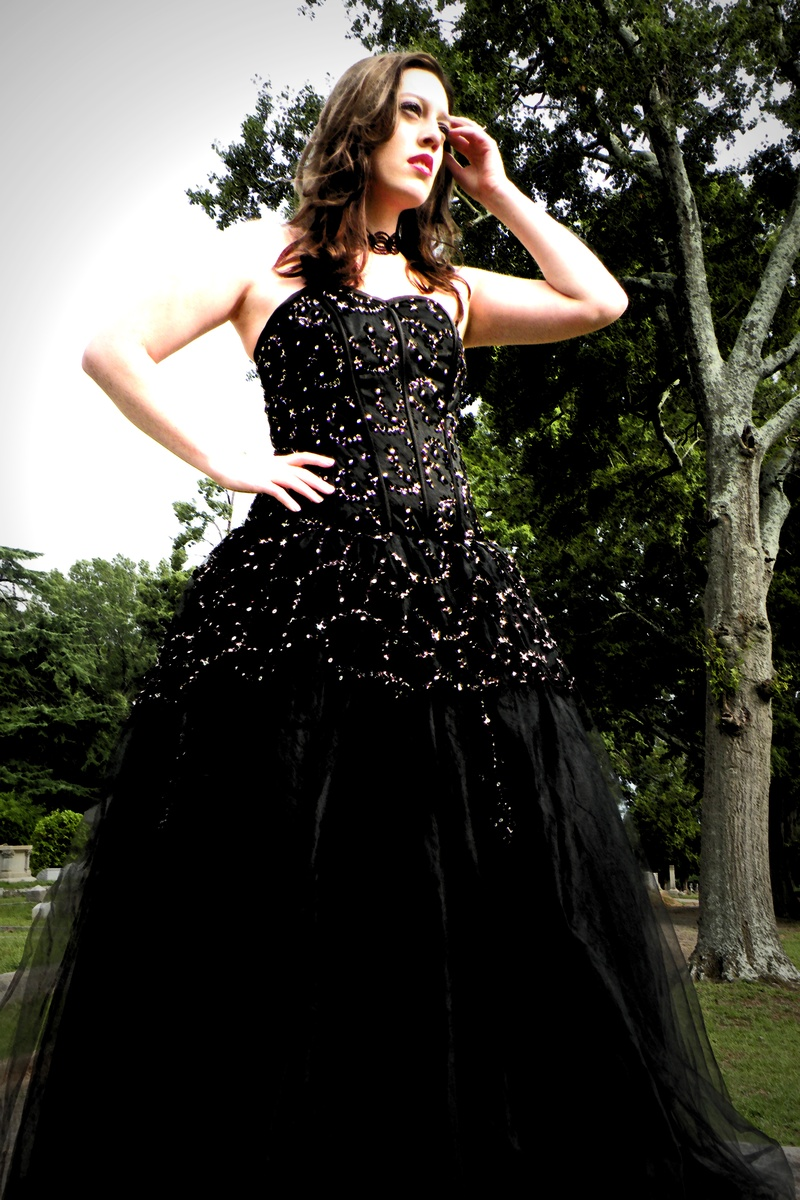gothic medieval wedding dresses