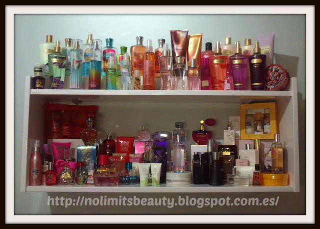 Mi colección de perfumes