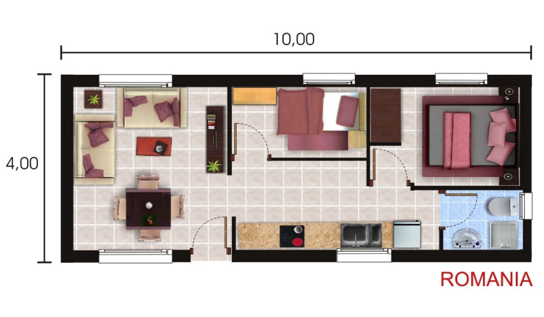 casas prefabricadas y modulares planos standard