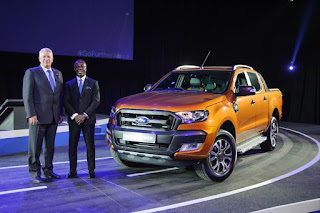 Ford Ranger truck assembled in Nigeria