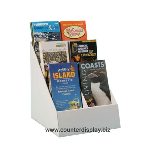 brochure kiosk pics  brochure holders cardboard