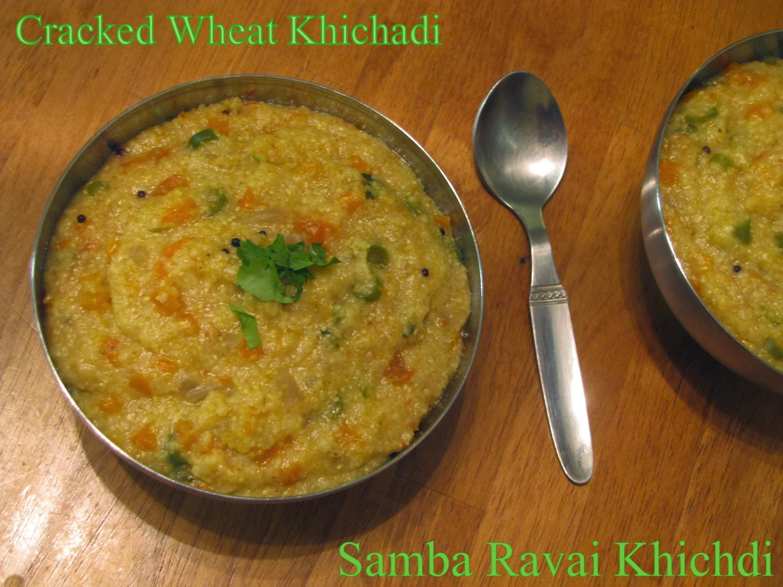 Cracked Wheat Kichadi