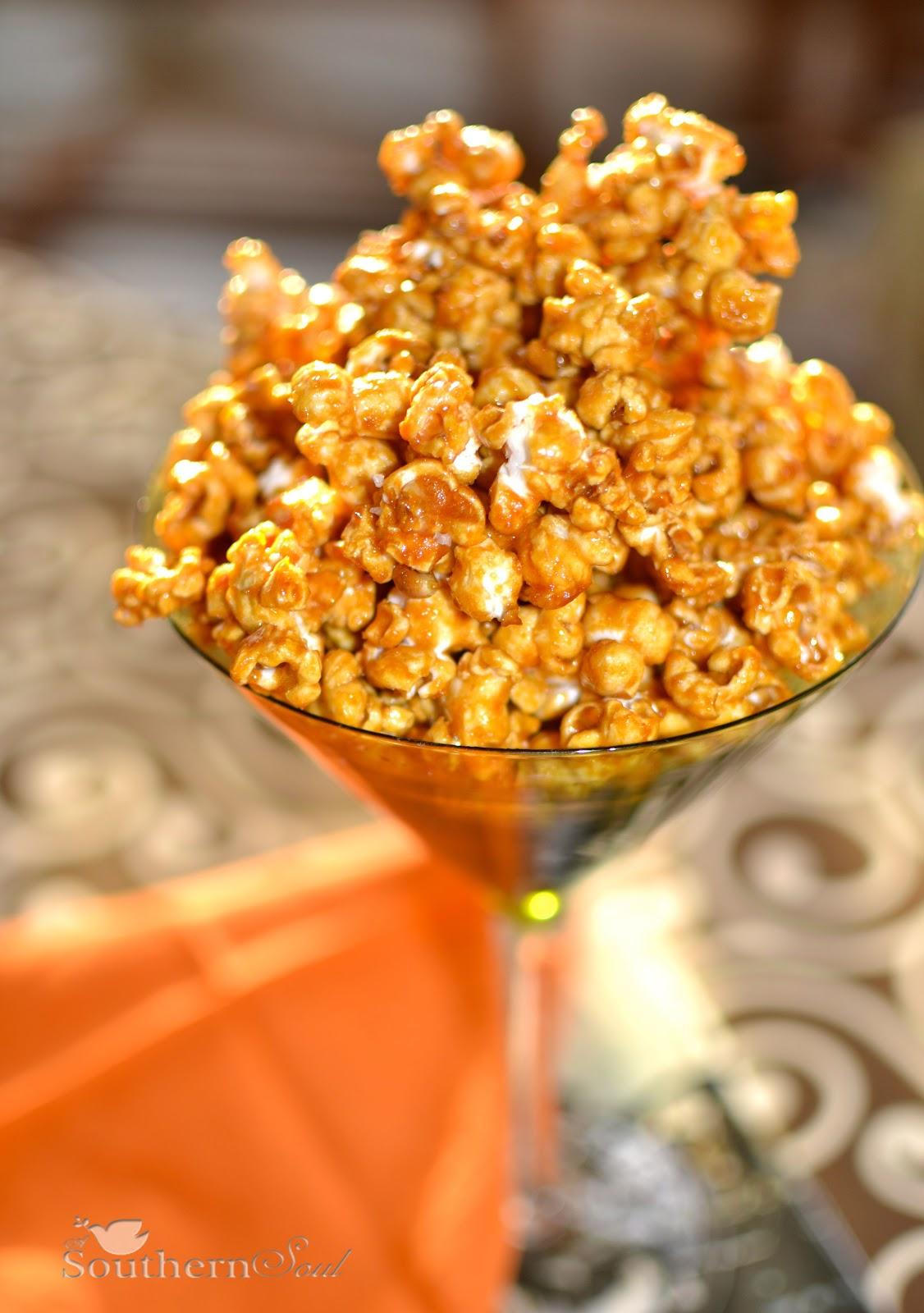 A Southern Soul: Caramel Corn with Sea Salt