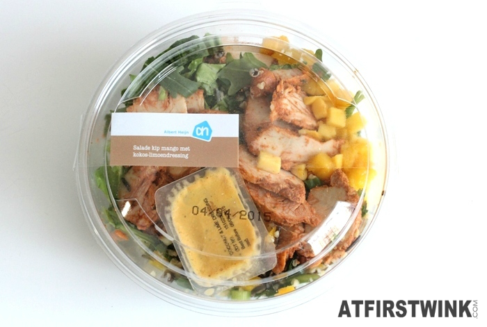 AH Chicken mango salad with coconut lime dressing | Salade kip mango met kokos-limoendressing