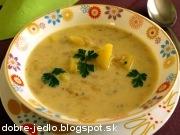 Zelerová polievka so zemiakmi - recept