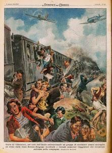 """6 AGOSTO 1944 """" La Domenica del Corriere"""""""