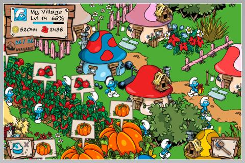 Smurfs' Village v1.6.0a Apk + Datos SD Mod [Dinero]