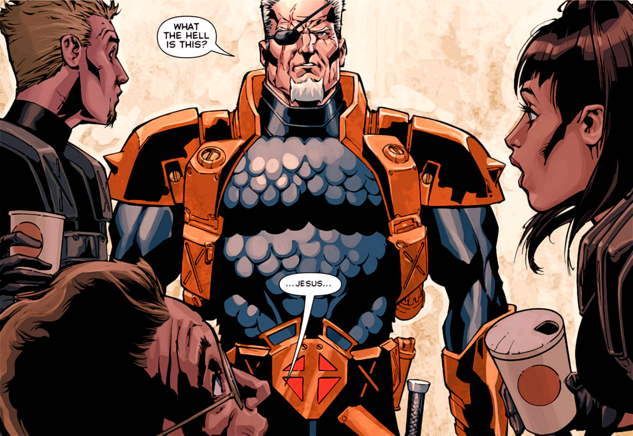 Deathstroke Without Mask Review: Deathstroke #1...