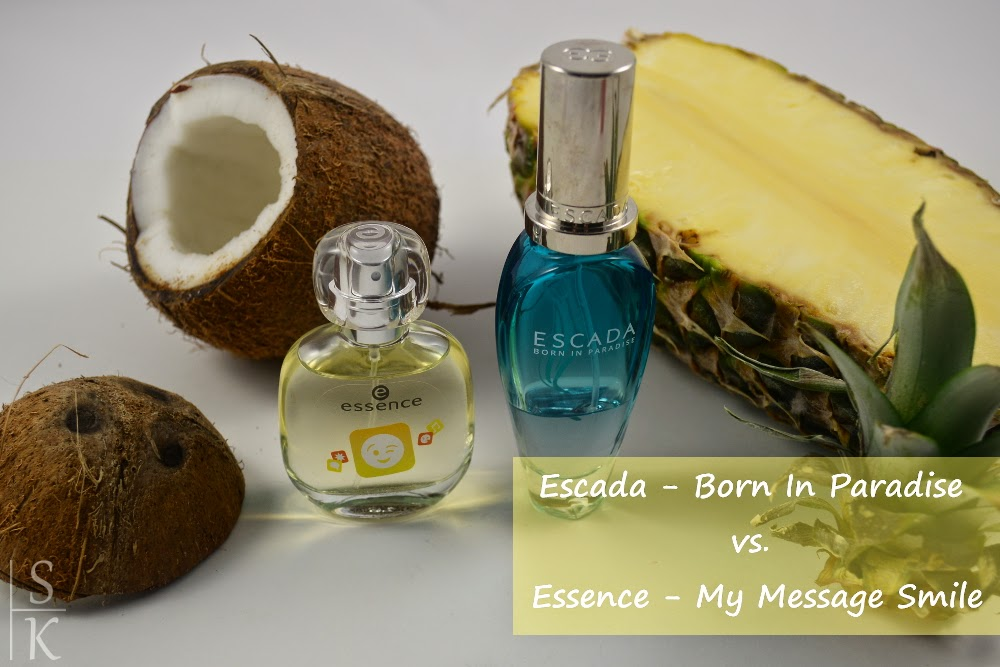 Escada - Born In Paradise vs. Essence - My Message Smile