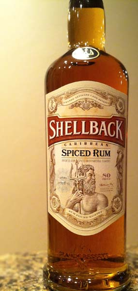 Bob 39 s brew and liquor reviews shellback spiced rum for What goes good with spiced rum