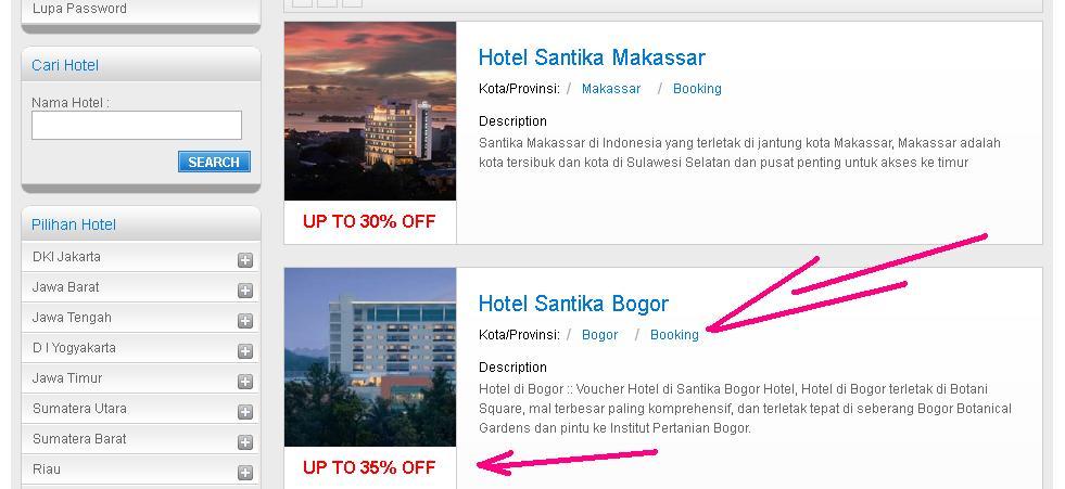 Hotel Santika Bogor 5 Jalan Raya Pajajaran