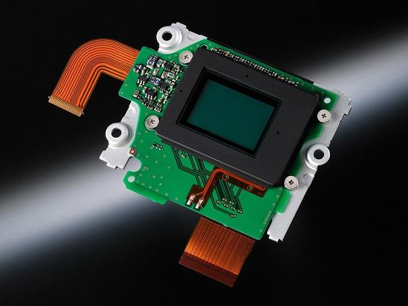 Fotografia del sensore della Nikon D7100