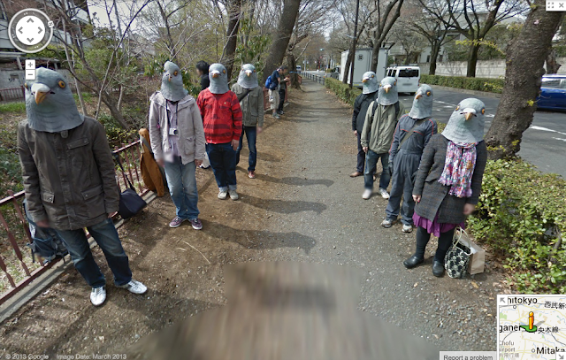 Japan odd people creepy scary wtf birds