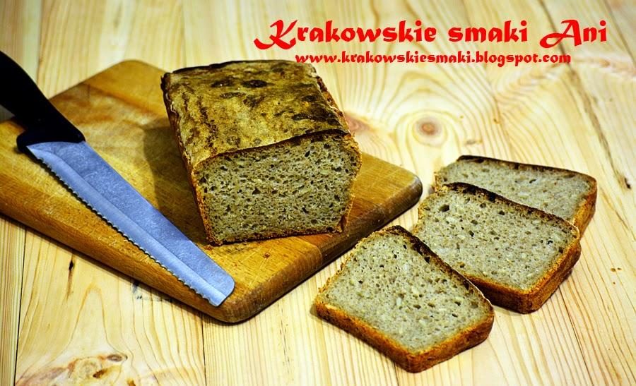 Chleb pszenno- żytni na zakwasie ze słonecznikiem
