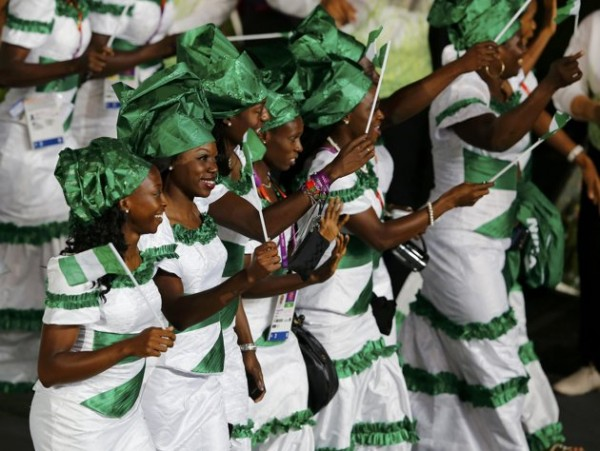 nigerians at london 2012 olympic