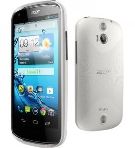 Acer Liquid E1 Harga dan Spesifikasi