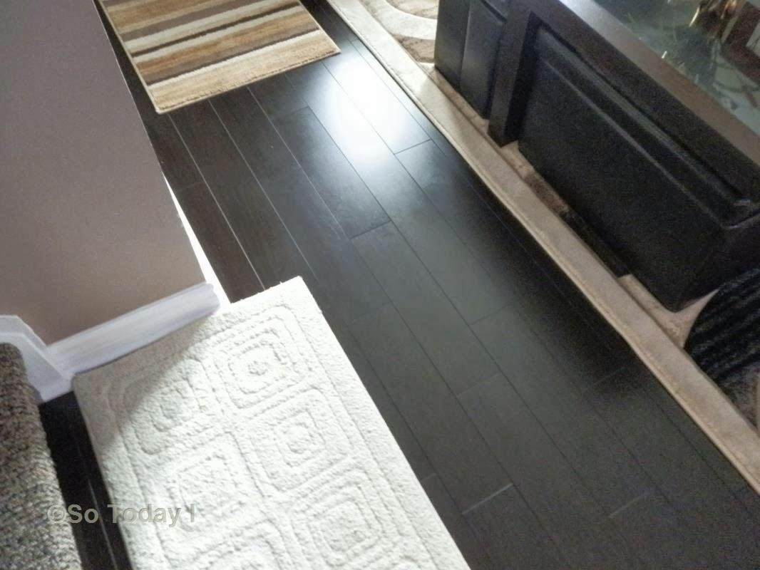 Keeping my dark laminate floors smudge free the easy way for My floor