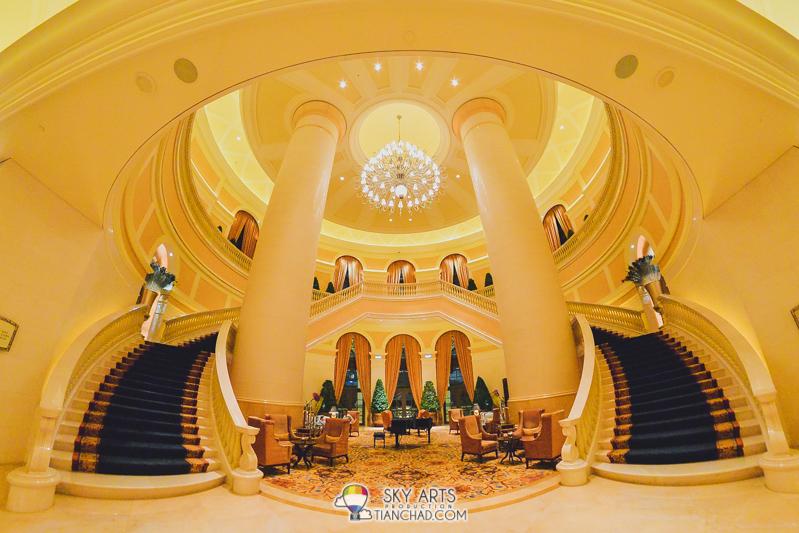 Macau's Four Seasons Hotel Lobby